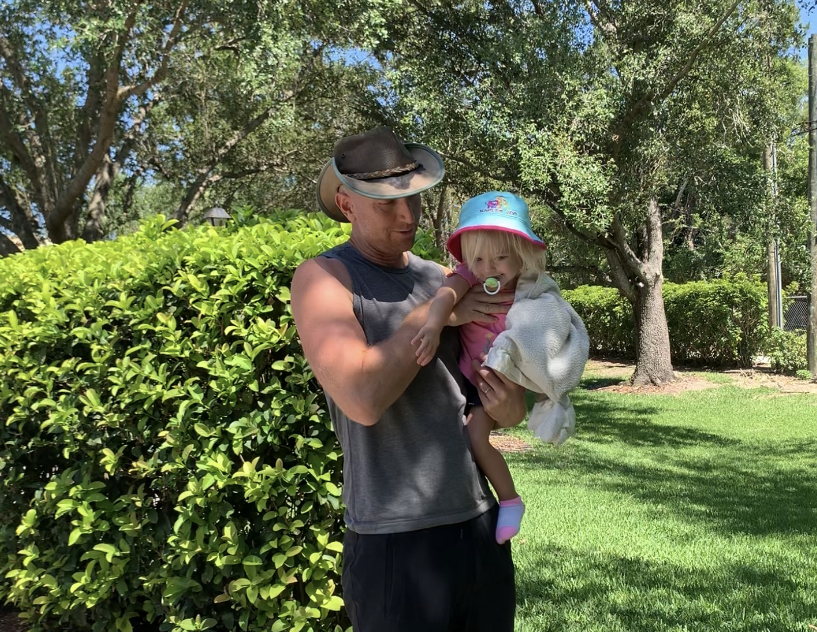 Daddy Daughter Fitness Workout